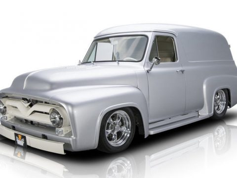ground-up restored 1955 Ford F 100 Panel Truck custom for sale