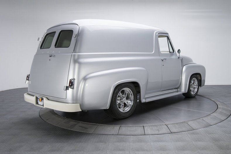 ground-up restored 1955 Ford F 100 Panel Truck custom