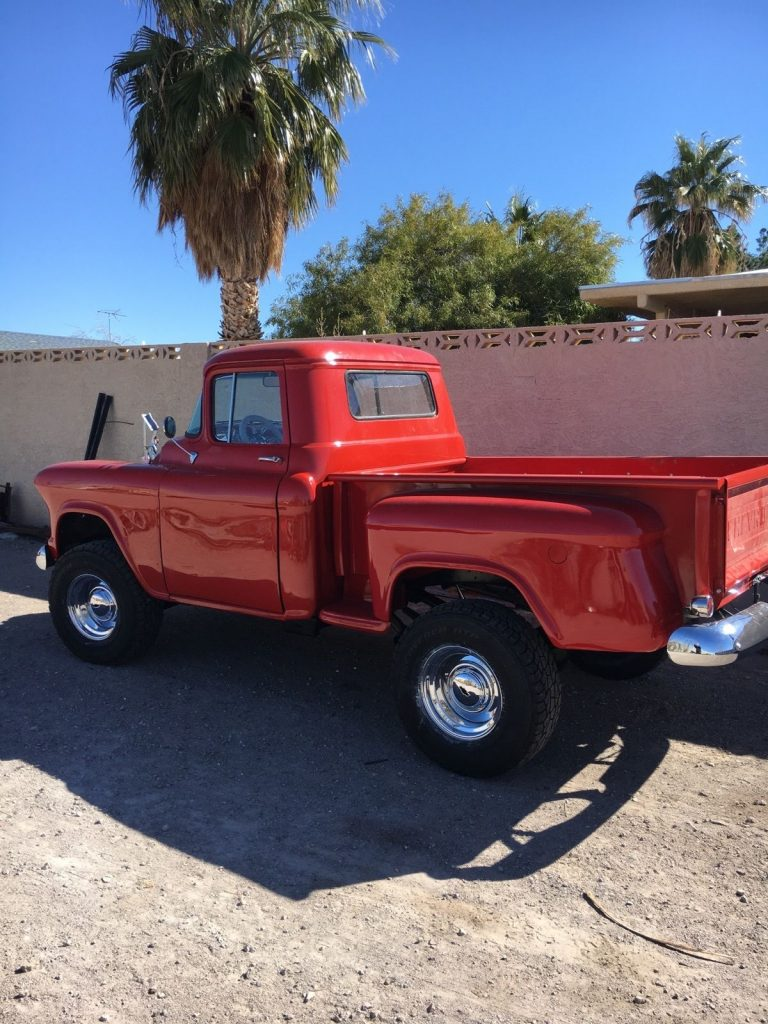 lifted 1955 Chevrolet Pickups 3100 custom