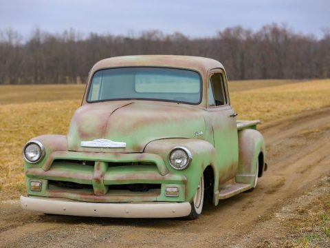 lowered 1954 Chevrolet Pickups 3100 custom truck for sale