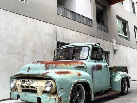 NICE PATINA 1953 Ford F 100 custom truck for sale
