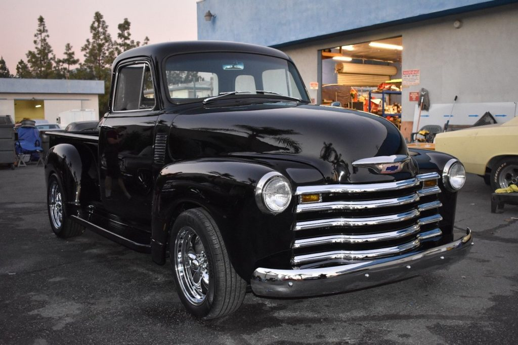 restored 1954 Chevrolet Pickups custom