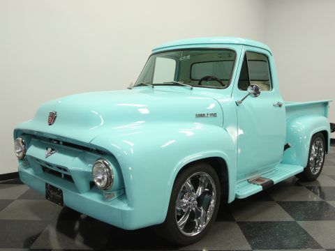 restored 1954 Ford F 100 custom truck for sale