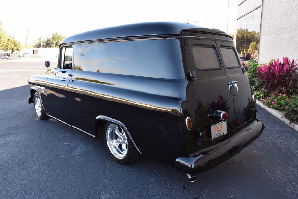 sharp 1955 Chevrolet Pickups Panel Truck V8 custom