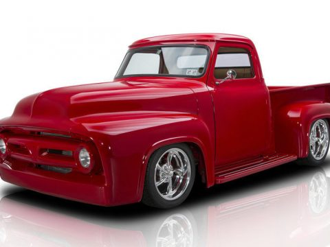 shiny 1953 Ford F 100 Pickup custom Truck for sale