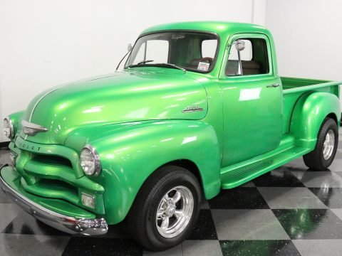 small block 1954 Chevrolet 3100 custom truck for sale
