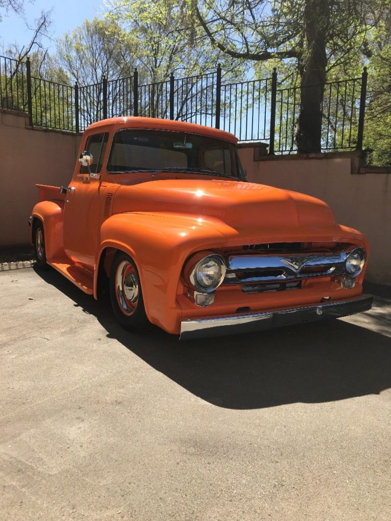 very nice 1956 Ford F 100 Custom truck