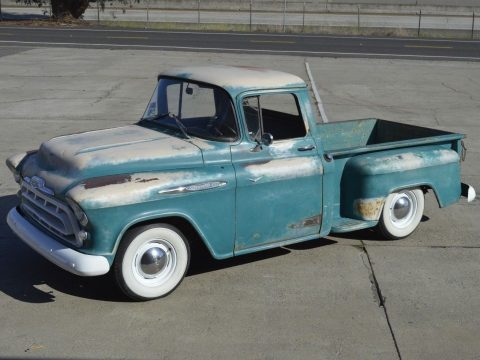 4 speed 1957 Chevrolet 3100 Pickup custom for sale