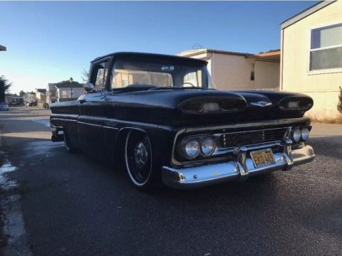 air ride 1960 Chevrolet C 10 custom truck for sale