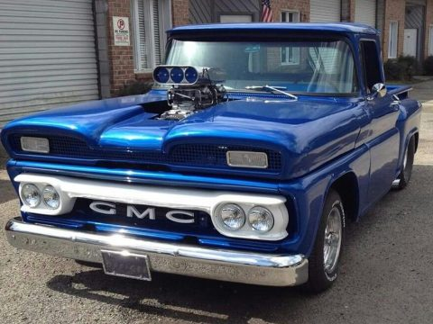 blown 1960 Chevrolet C 10 custom truck for sale