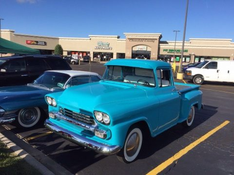 crate engine 1958 Chevrolet 3100 hot rod custom for sale