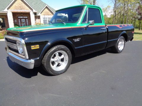 custom paint lowered 1969 Chevrolet C 10 Short Bed custom truck for sale