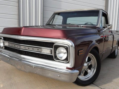 fuel injected 1969 Chevrolet C 10 Short Bed custom truck for sale