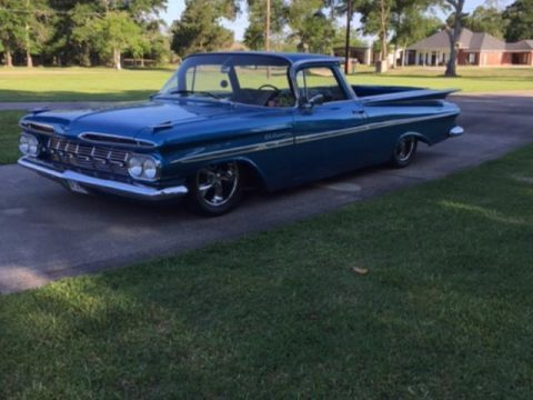 glossy 1959 Chevrolet El Camino custom for sale