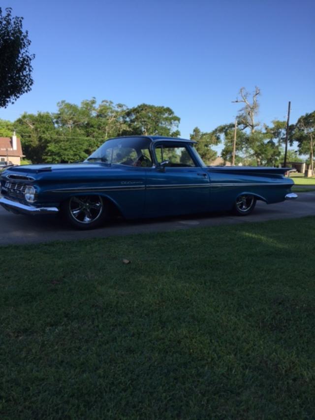glossy 1959 Chevrolet El Camino custom