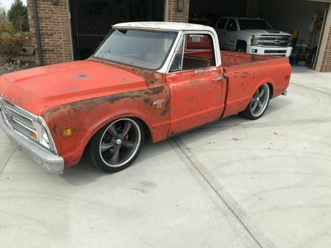 great patina 1968 Chevrolet C 10 Short Box C10 custom truck for sale