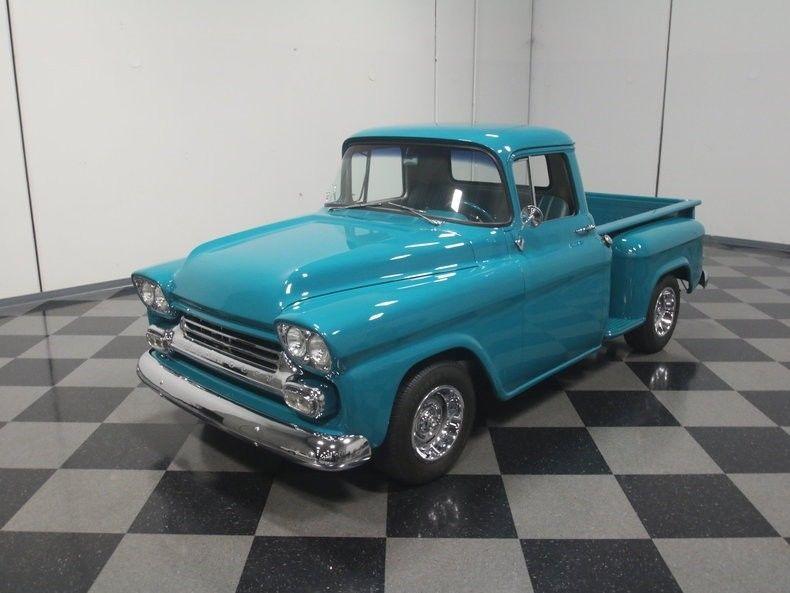 newer engine 1959 Chevrolet Apache Pickup custom