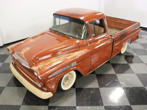 nice patina 1959 Chevrolet Pickup custom for sale