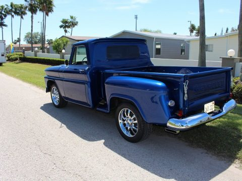 restomod 1966 Chevrolet Pickup Stepside custom truck for sale