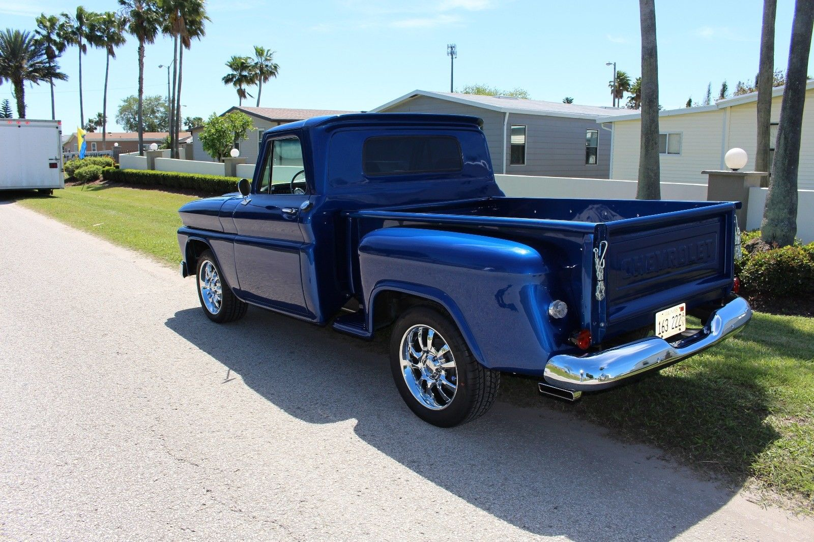 Restomod 1966 Chevrolet Pickup Stepside Custom Truck For Sale 1949 Chevy