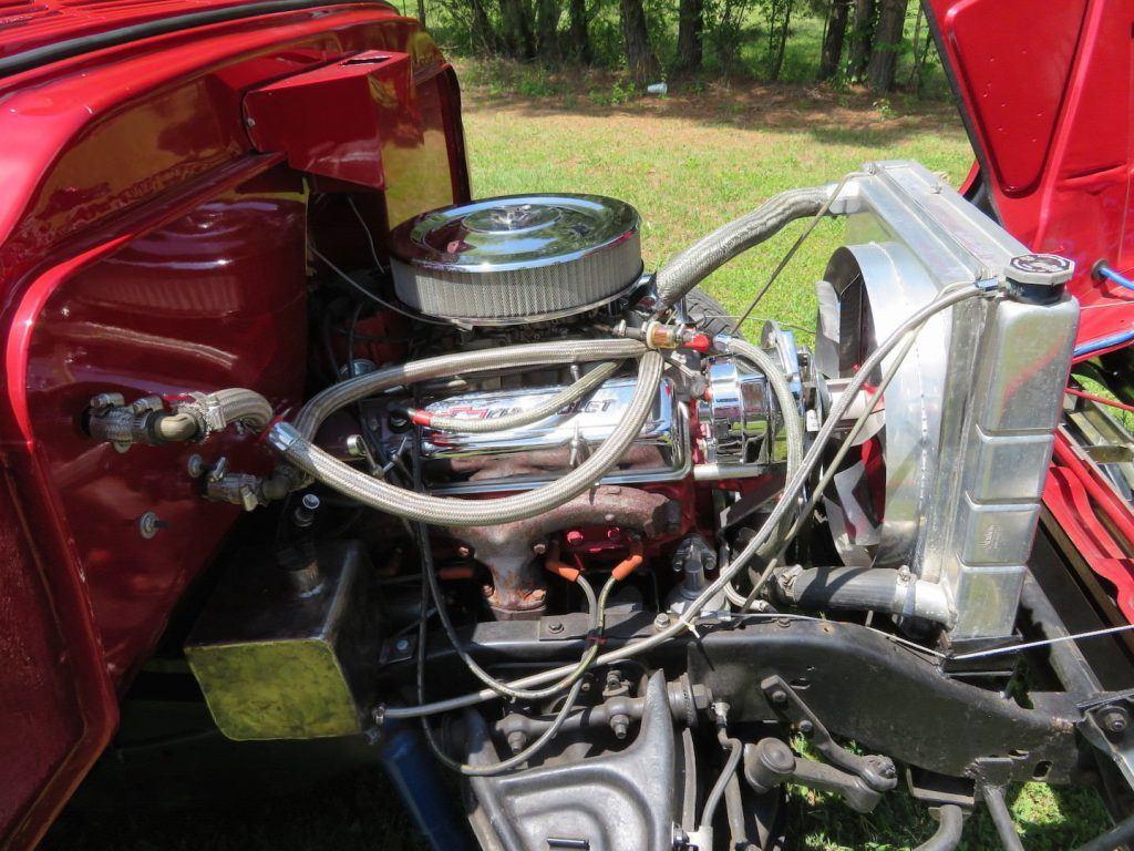 restored 1957 Chevrolet Pickup custom