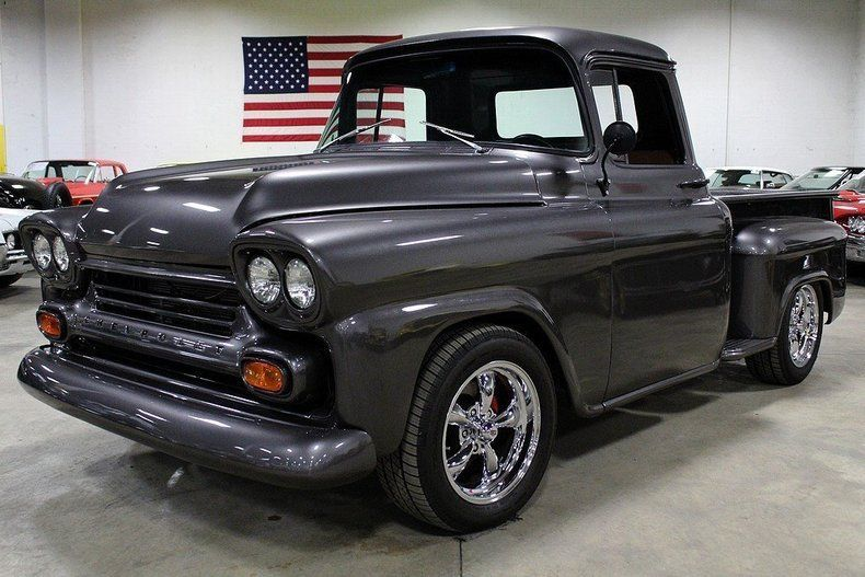 smooth 1958 Chevrolet Pickups custom