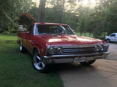 crate engine 1967 Chevrolet El Camino SS custom truck for sale