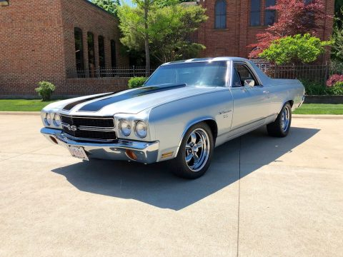 custom wheels 1970 Chevrolet El Camino custom truck for sale