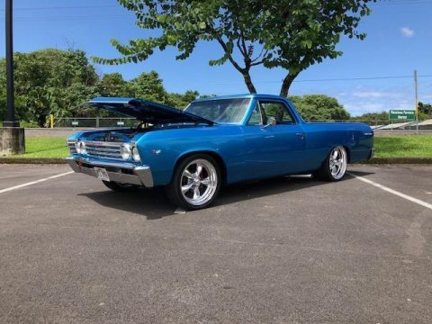 frame off restored 1967 Chevrolet El Camino custom for sale