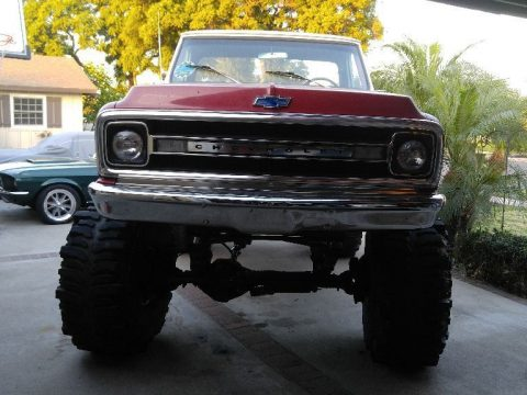 lifted 1969 Chevrolet C 10 4X4 custom truck for sale