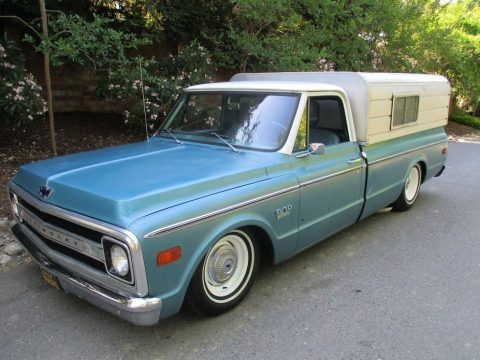 nice patina 1969 Chevrolet C 10 Custom bagged for sale