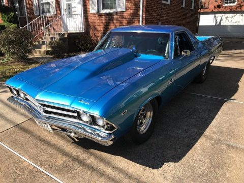 nitrous equipped 1969 Chevrolet El Camino SS 396 custom truck for sale