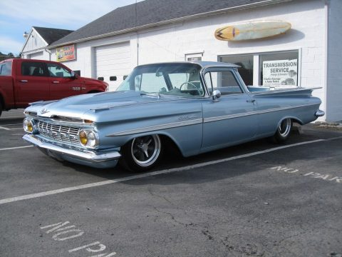 restored 1959 Chevrolet El Camino custom truck for sale