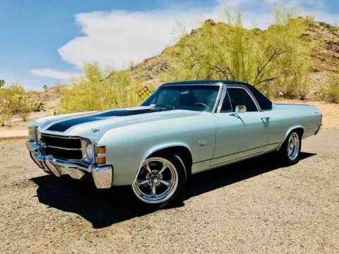 very low miles 1971 Chevrolet El Camino SS custom for sale
