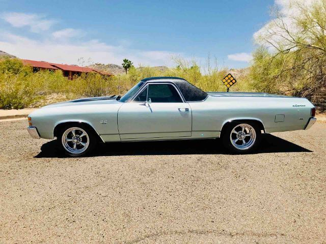 very low miles 1971 Chevrolet El Camino SS custom