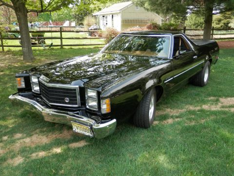 bigger engine 1979 Ford Ranchero GT custom truck for sale