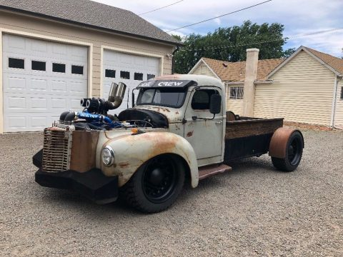 Cummins powered 1941 International Harvester custom truck for sale