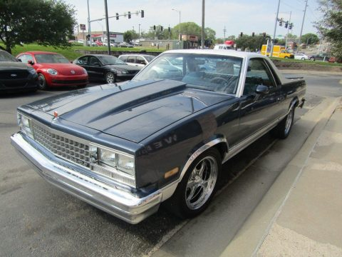 custom wheels 1984 Chevrolet El Camino custom truck for sale