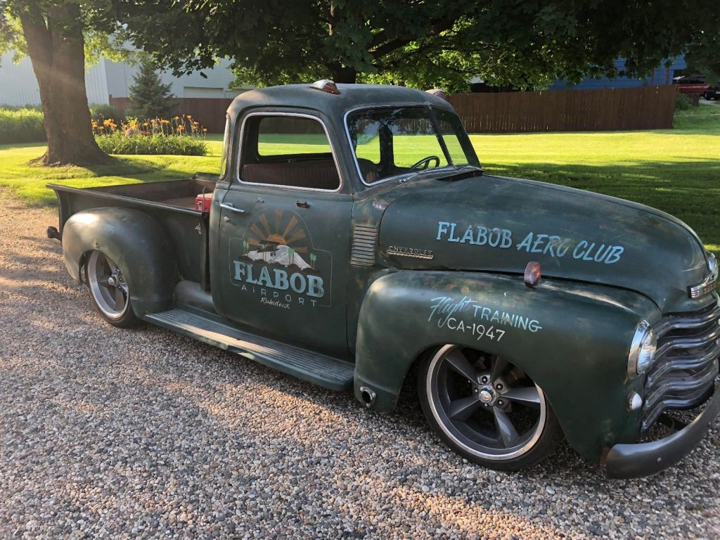 newer frame 1947 Chevrolet Pickups Standard custom