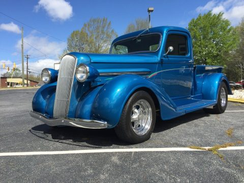 sharp 1937 Plymouth custom truck for sale
