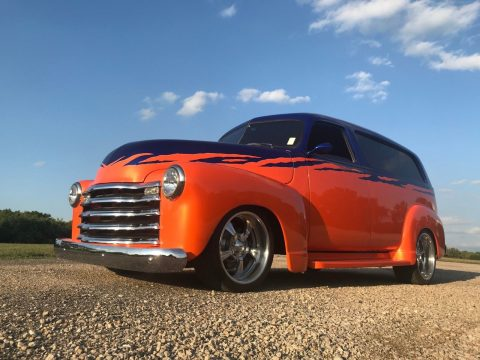 extremely well built 1950 Chevrolet Suburban custom truck for sale