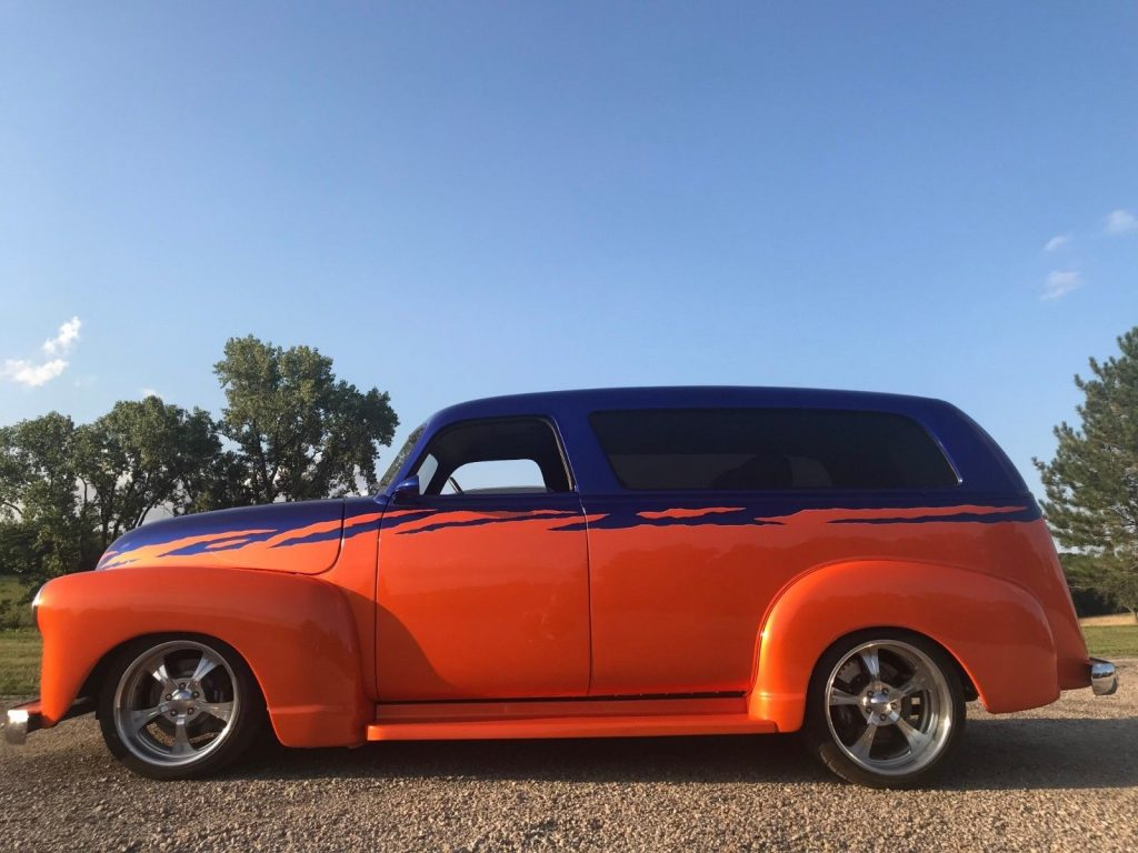 extremely well built 1950 Chevrolet Suburban custom truck