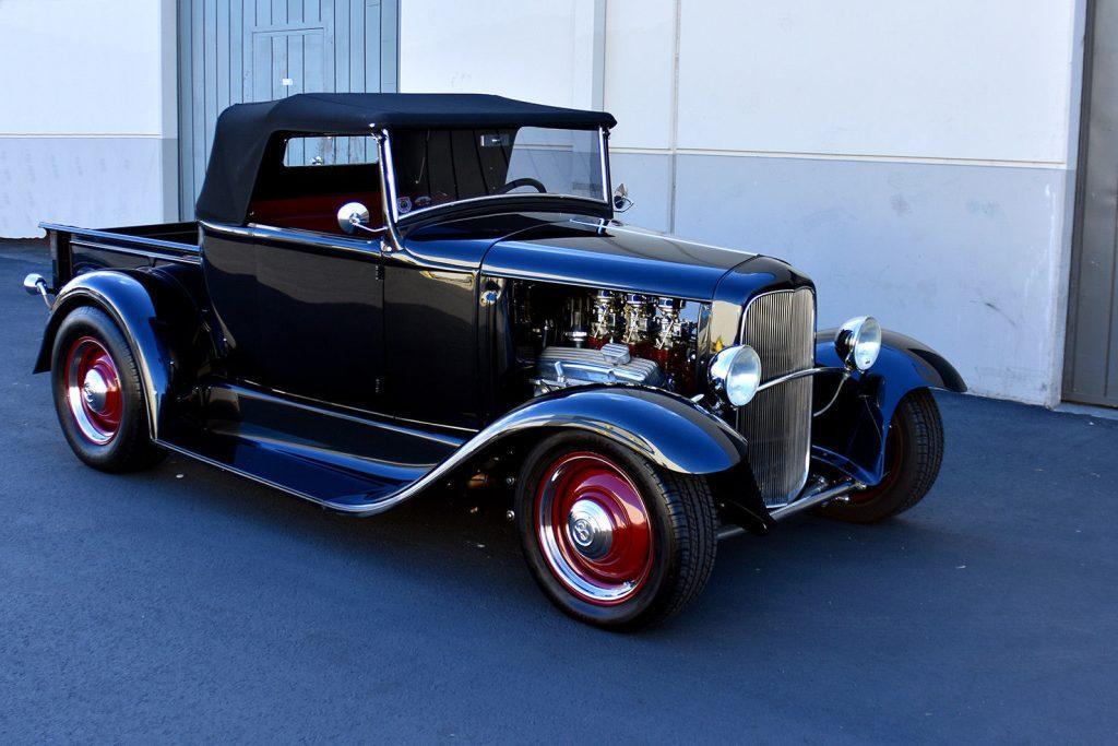 freshly built 1931 Ford Model A custom truck