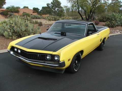 modified engine 1970 Ford Ranchero GT custom truck for sale