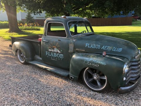 newer chassis 1947 Chevrolet Pickup custom truck for sale