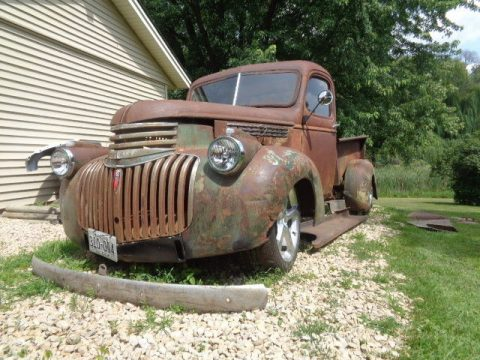 nice project 1946 Chevrolet Pickup custom truck for sale