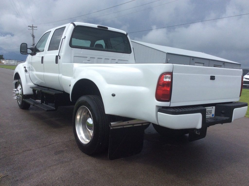 nicely converted 2005 Ford F650 custom truck