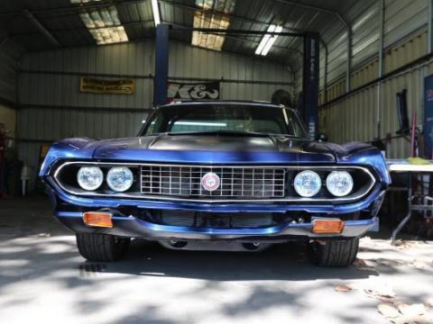 nitrous equipped 1970 Ford Ranchero custom truck for sale