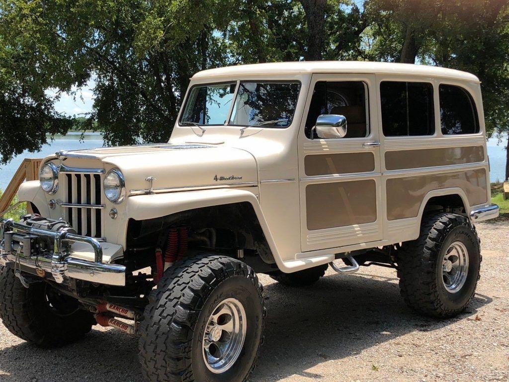 offroad 1956 Jeep Willys Wagon custom truck