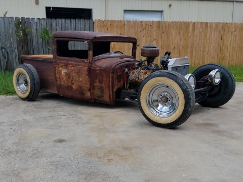 patina 1930 Ford Model A custom Truck for sale